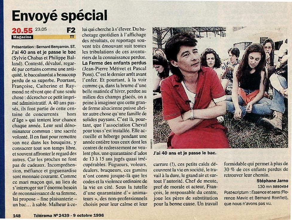 Presse-Bac-40 ans -Sylvie-Chabas-realisatrice-Paris