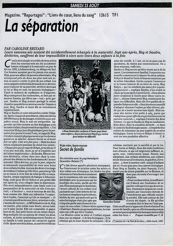 Presse-Enfant-echangés-Sylvie-Chabas-realisatrice-Paris