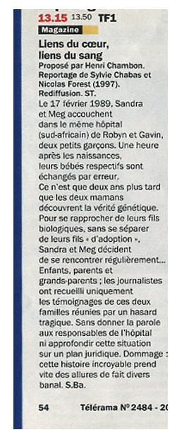 Presse-Enfant-echangés-Telerama-Sylvie-Chabas-realisatrice-Paris