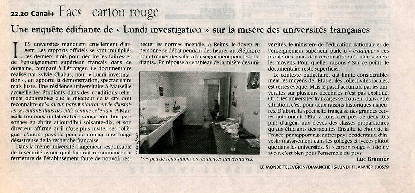Presse-Fac-carton-rouge-Le Monde-Sylvie-Chabas-realisatrice-Paris