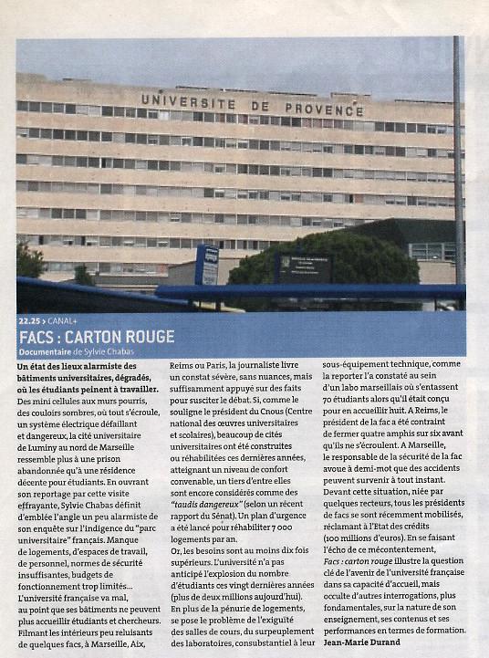 Presse-Fac-carton-rouge-Les Inrockuptibles-Sylvie-Chabas-realisatrice-Paris