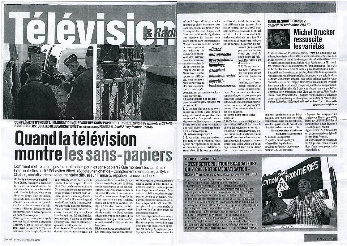 Presse-sans-papier-regularisation--Sylvie-Chabas-realisatrice-Paris-1